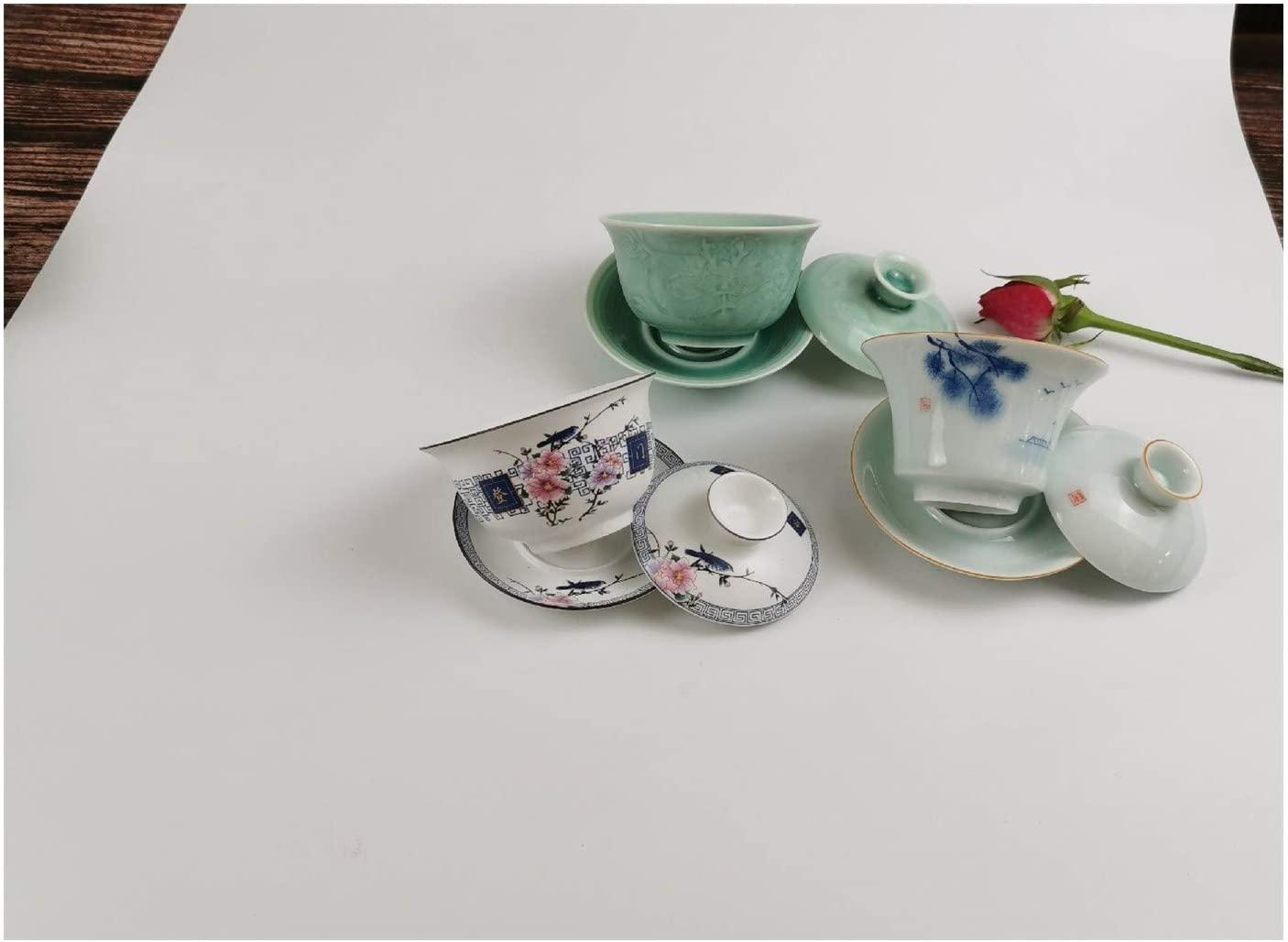 MADONG Creative handmade teapot Japanese teapot celadon pot retro side of the ceramic kung fu tea pot of (Color : Random bowls)