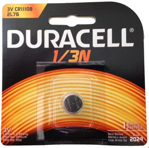 Duracell 2L76 1/3N CR1-3N K58L 3V Lithium Battery