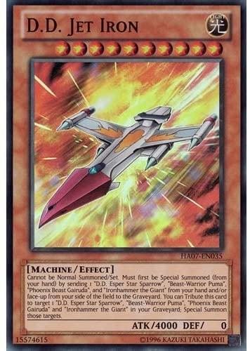 x3 D.D. Jet Iron - HA07-EN035 - Super Rare - Unlimited Edition