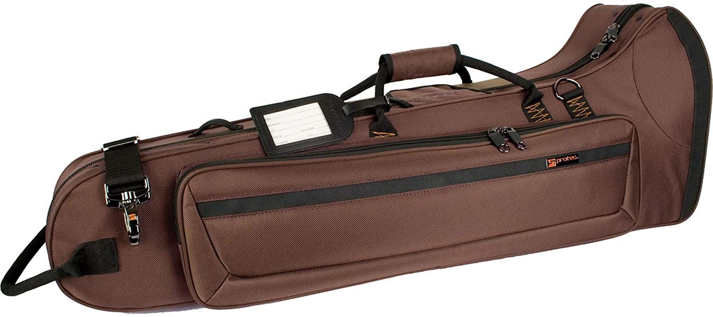 Protec Tenor Trombone Contoured PRO PAC Case - Chocolate, Model PB306CTCH
