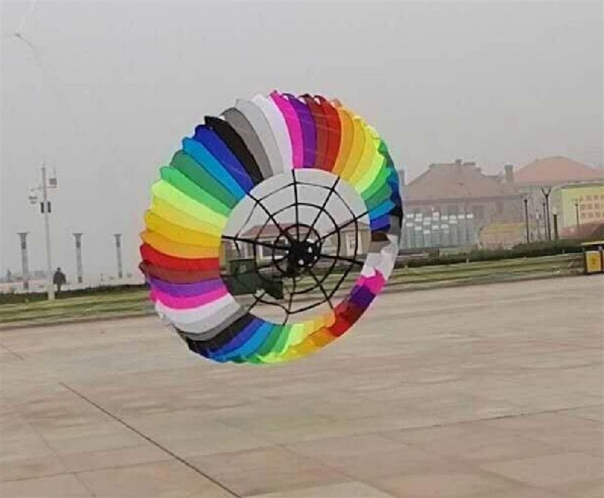 JELO Premium Kite, Kids Kite Beautiful Kites for Kids Easy to Fly for Beach Outdoor Windsock Colorful Kite Perfect Childhood Mate (Color : Colorful)