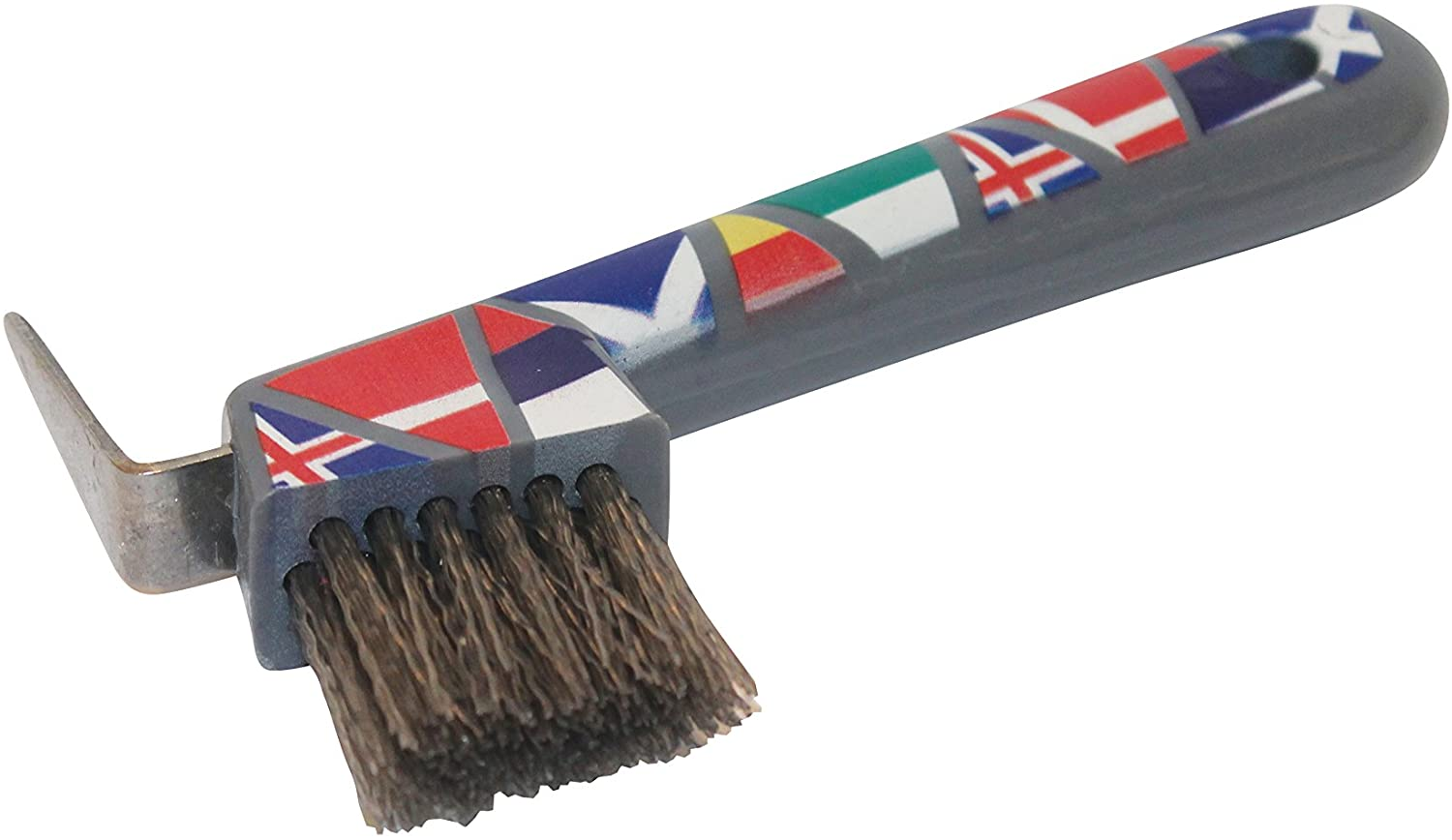 Roma Pattern Hoof Pick National Flags