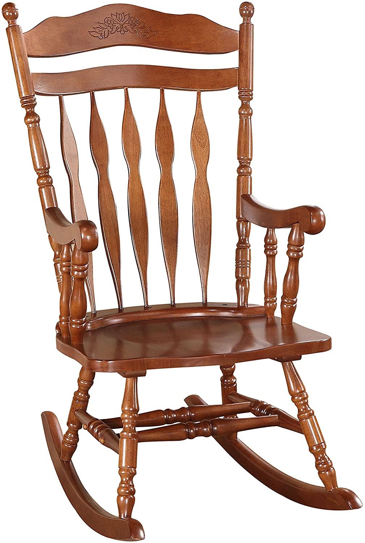 ACME Furniture 59209 Kloris Rocking Chair, Dark Walnut