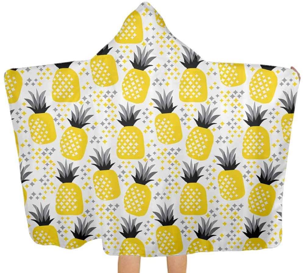 ThinkingPower Hooded Baby Towel Tribal Rhombus Hypoallergenic Hooded Towel Great, 51.5x31.8 Inch