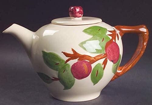 Franciscan Apple (China, Apple Backstamp) Tea Pot and Lid, Fine China