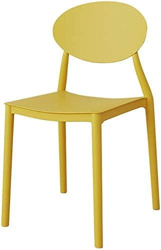 HOMRanger Leisure Chair, JF Chair/Retro Chair/Dining Chair Leisure Chair/Plastic 44cm42cm82cm Multi Color Options (Color : I)