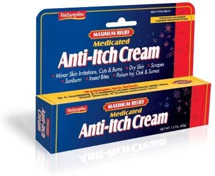 Maximum Relief Medicated Anti-Itch Cream 4 Pack