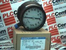 ASHCROFT 45-1379-SSL-04L-230FW Pressure Gauge DURAGAUGE 4.5IN 0/230FT Range H20