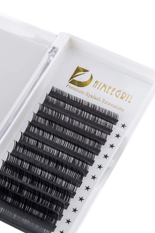 Eyelash Extension 0.15 CC Curl Mink Eyelash Extensions Individual Lashes Classic Faux Mink Eyelash Extension Supplies For Salon 8-15mm Mixed Tray Silk Eyelashes (mix)