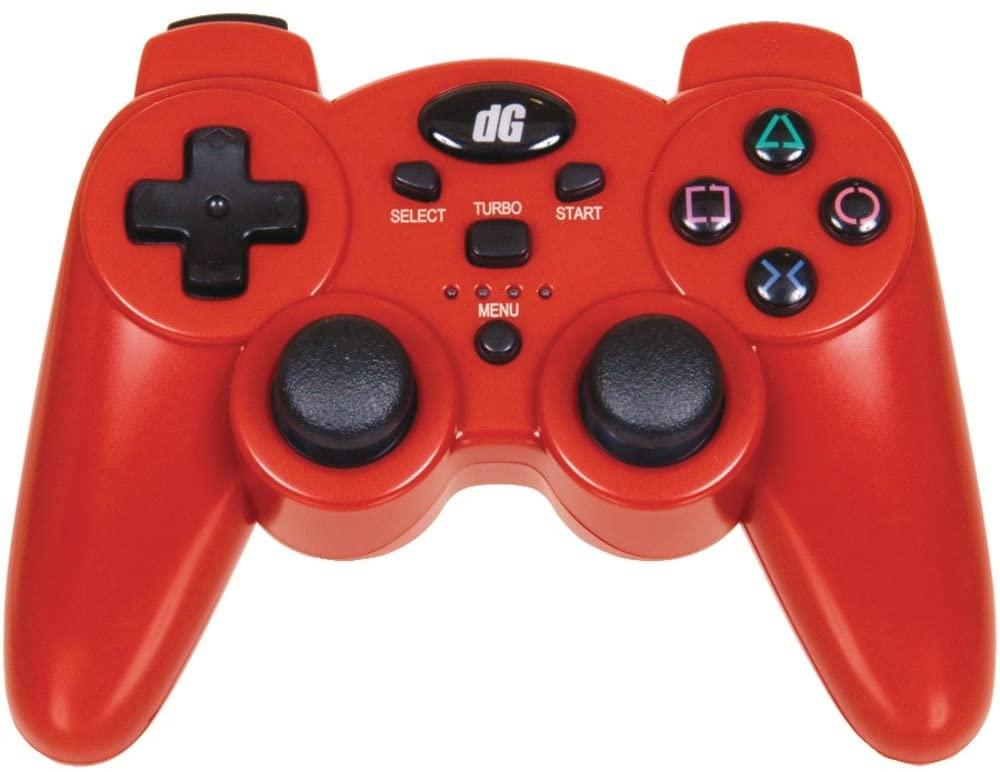 1 - PlayStation(R)3 Radium Wireless Controller (Metallic Red), SIXAXIS(R) motion control, 2.4GHz wireless technology, DGPS3-1385