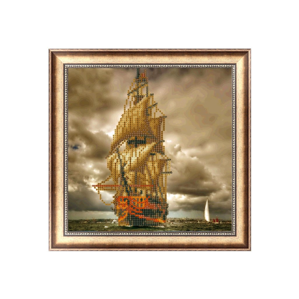 Horenme Boat DIY 5D Diamond Painting Embroidery Craft Cross Stitch Home Decor Art Gift