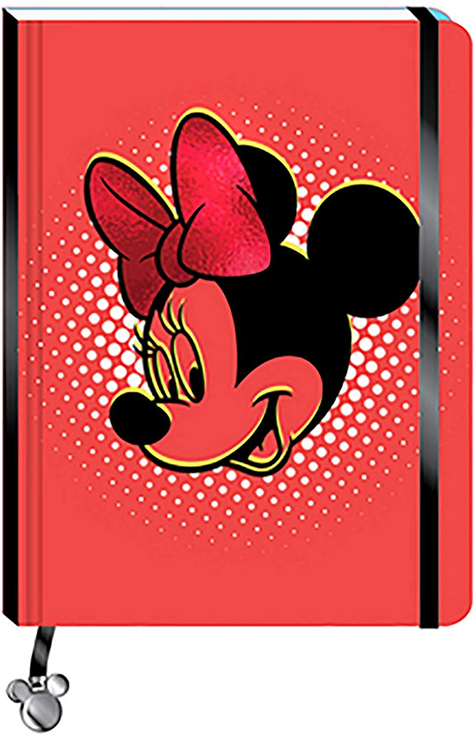 Disney Minnie Mouse Face Journal
