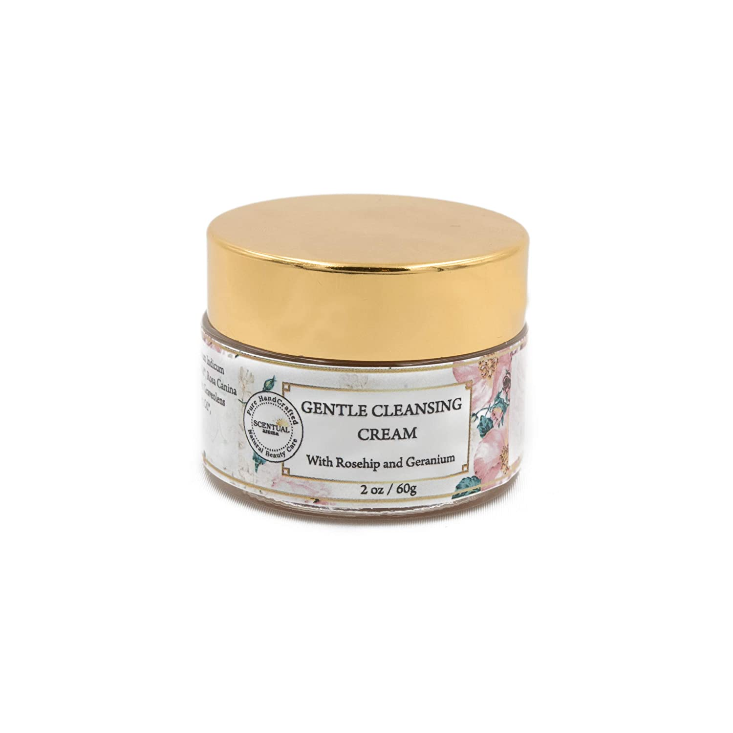Scentual Aroma Natural Makeup Remover - Gentle Cleansing Cream