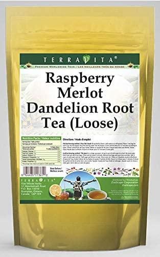 Raspberry Merlot Dandelion Root Tea (Loose) (8 oz, ZIN: 566765) - 3 Pack