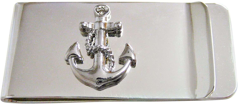 Kiola Designs Detailed Nautical Anchor Money Clip
