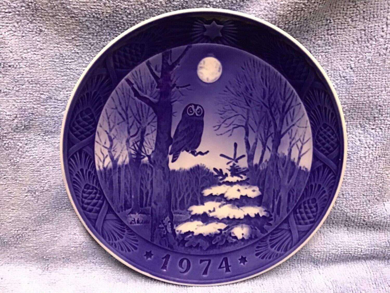 1974 Royal Copenhagen Christmas Plate -