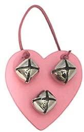 Auburn Leathercraft Heart Bell Door Hanger