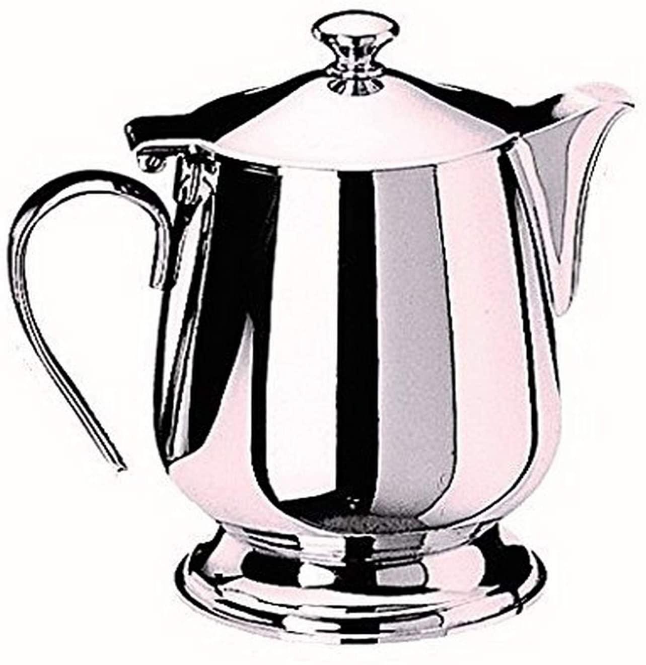 Mepra coffee-servers, Silver