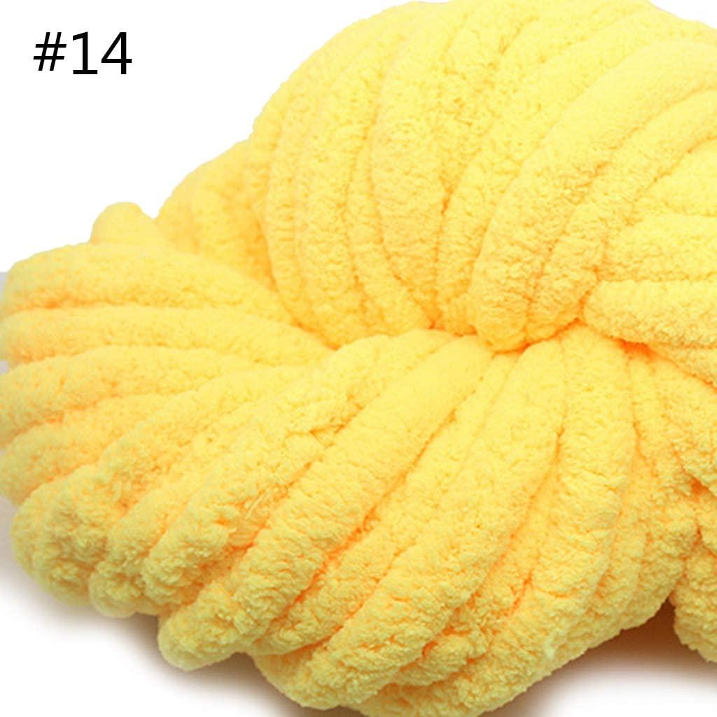 Wool Yarn Knitting-MOMU-250g Super Soft Warm Chenille Blanket Yarn DIY Coarse Blanket