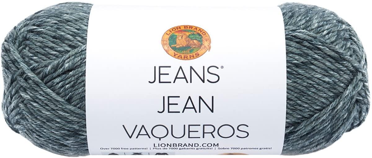 Lion Brand Yarn 505-150 Jeans Yarn, Vintage