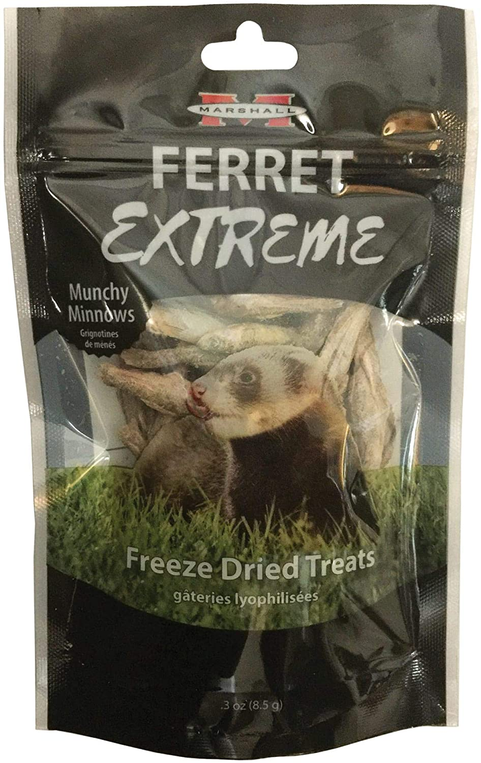 Marshall Ferret Extreme Freeze Dried Munchy Minnows Flavored Treats