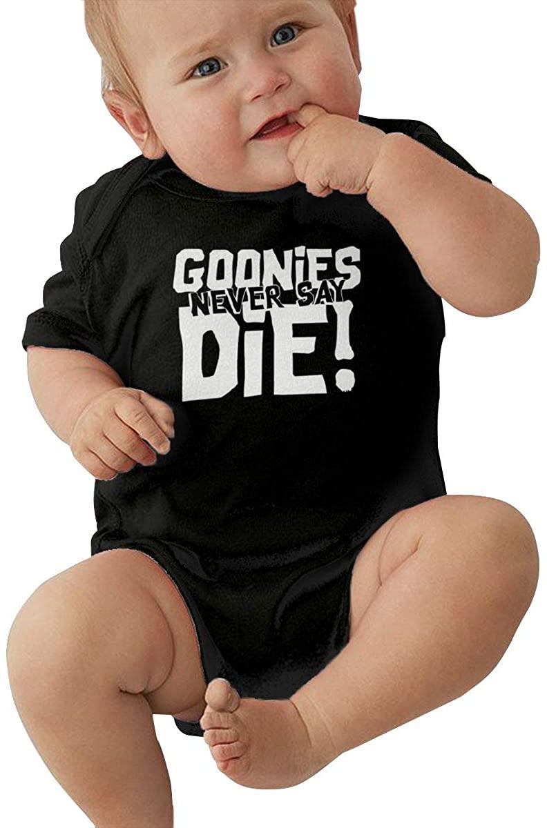 Yangxud Goonies Never Say Die Baby Romper Comfortable Baby Baby Suit