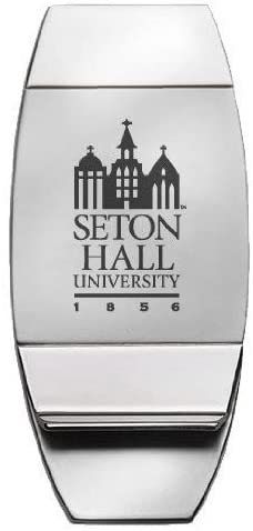 LXG, Inc. Seton Hall University - Two-Toned Money Clip - Silver