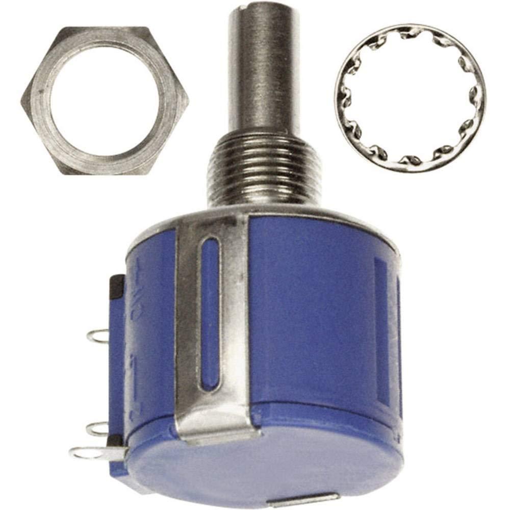 Bourns 3540S-1-103L. Resistor Wirewound Potentiometer, 10k Ohm, 5% Tolerance, 2W, 6.34 mm Solder Lug Panel Mount, 39.67 mm L x 22.23 mm D