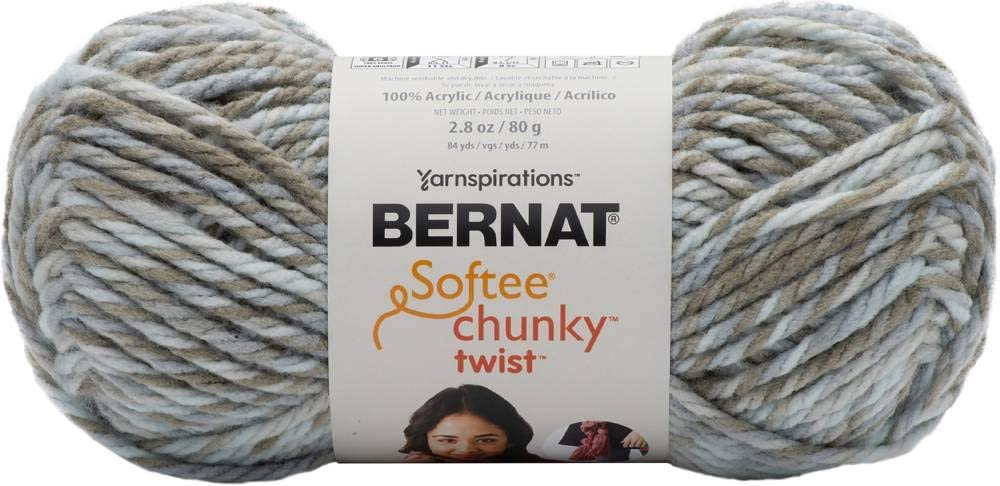 BERNAT Softee Chunky Twist SB Yarn, Seaglass