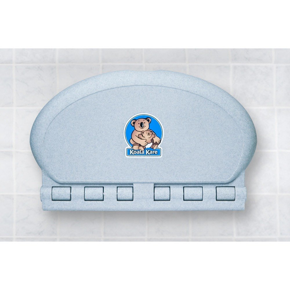 Oval Baby Changing Station Wall Mount Finish: Granite