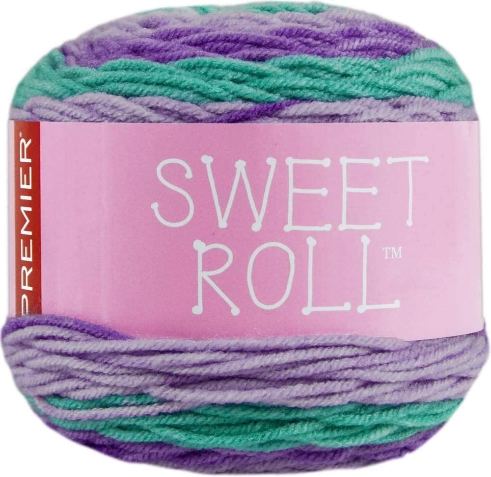 Premier Yarns Sweet Roll Yarn-Rock Candy