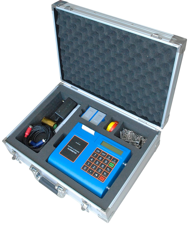 TUF-2000P-TM-1 DN50-700mm Portable Ultrasonic Flow Meter Flowmeter -30 to 90°C SD Card Printer