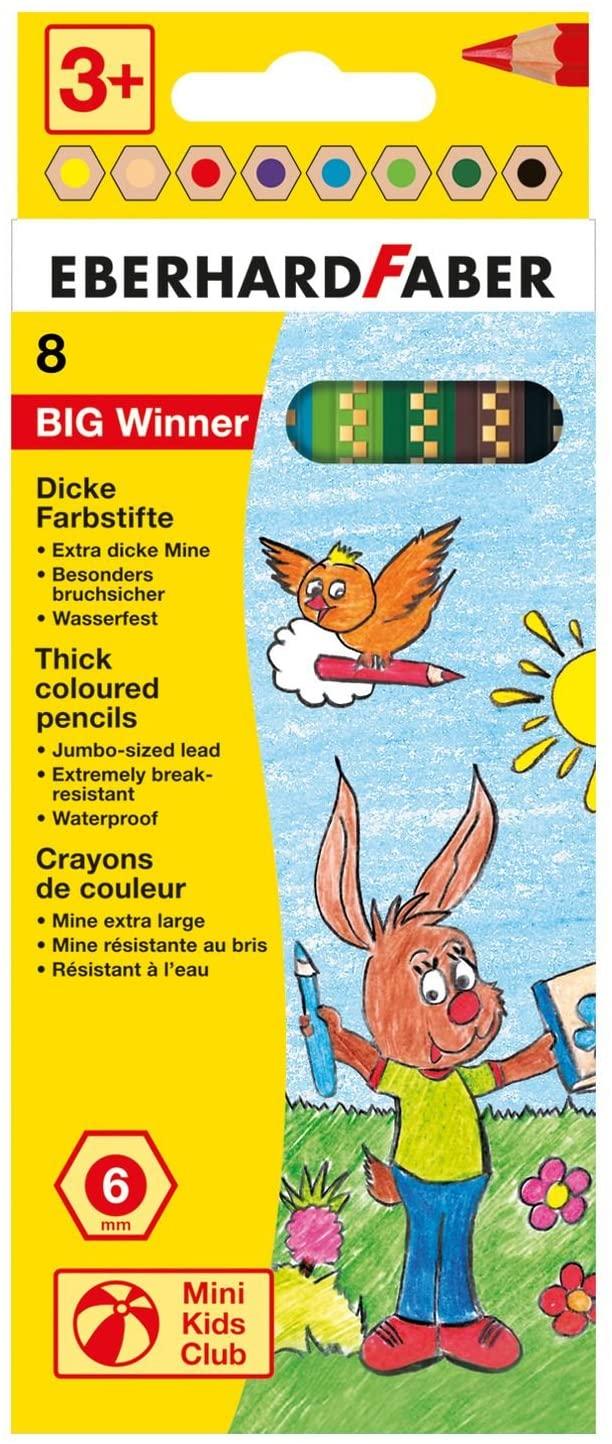 Eberhard Faber Big Winner 518708Colouring Pack in Cardboard Case