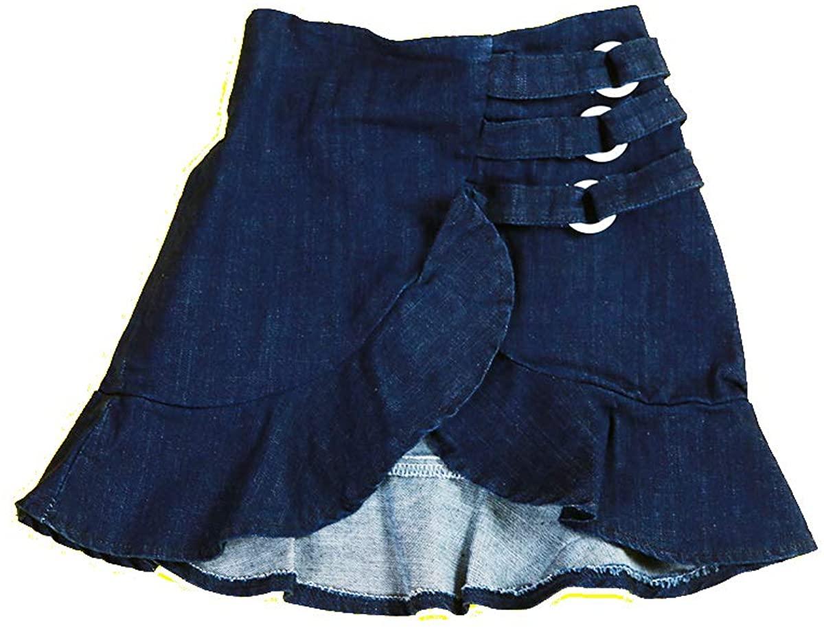 CHOCOKIDS Denim Tulip Skirt with Flare ; BSP0165