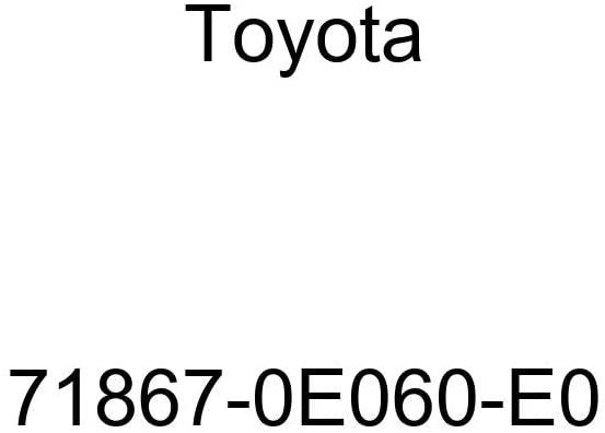 TOYOTA Genuine 71867-0E060-E0 Seat Cushion Shield
