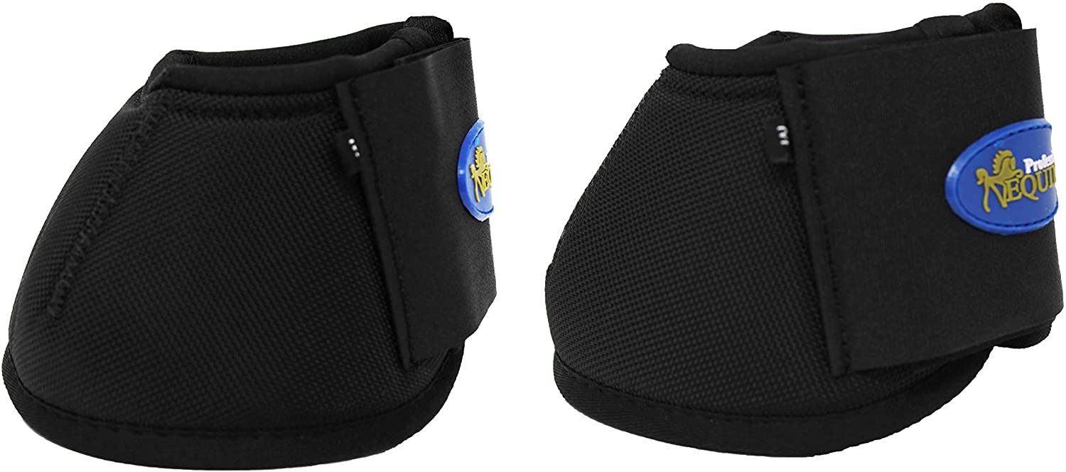 Professional Equine Horse Medium Over-Reach Sports Bell Boots 4103
