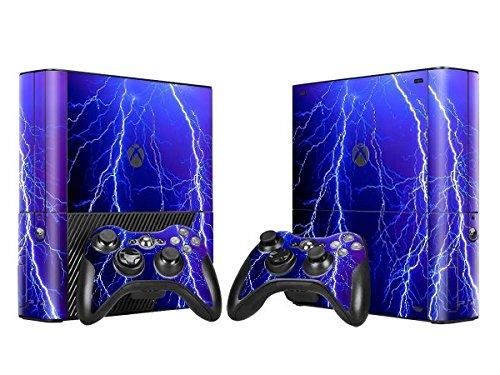 CSBC Skins Xbox 360 E Design Foils Faceplate Set - Lightning Design