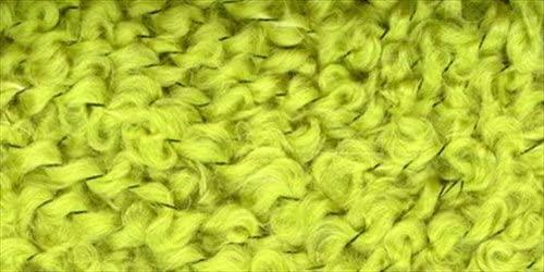 Boucle Yarn - Lime