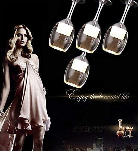 BOSSLV Round Led Lights,Chandelier,Glass Chandelier,High-End Restaurant Desk Lamp