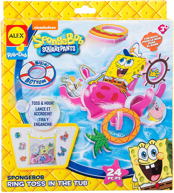 SpongeBob Ring Toss in the Tub Bath Toy