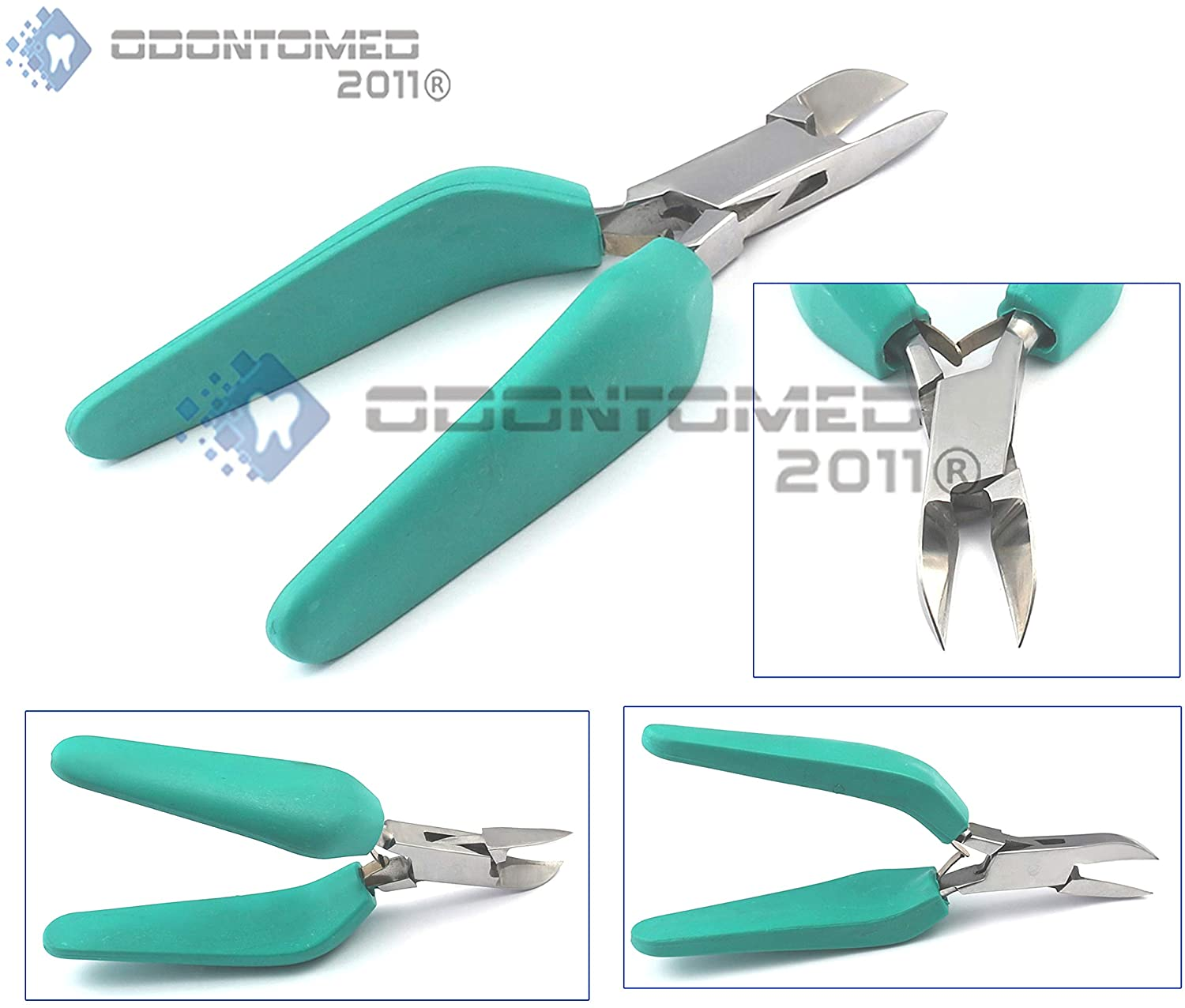 OdontoMed2011 Tough Toenails and Ingrown Nails are Easy to Clip with These Precision, Giant Nippers ODM