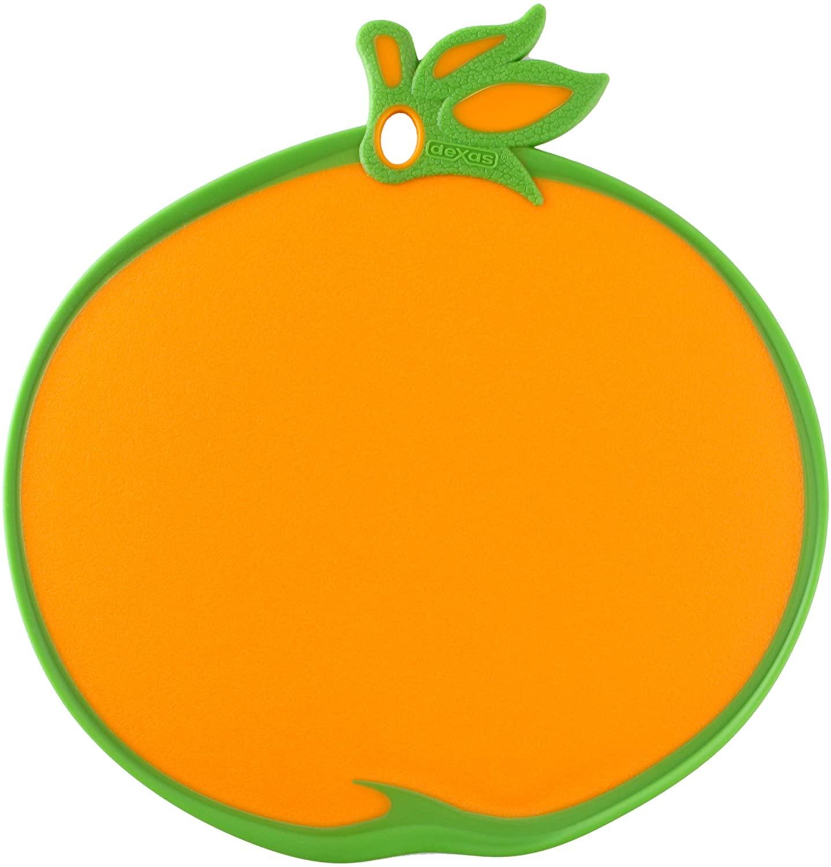 Dexas Cutting/Serving Board, Orange Shape