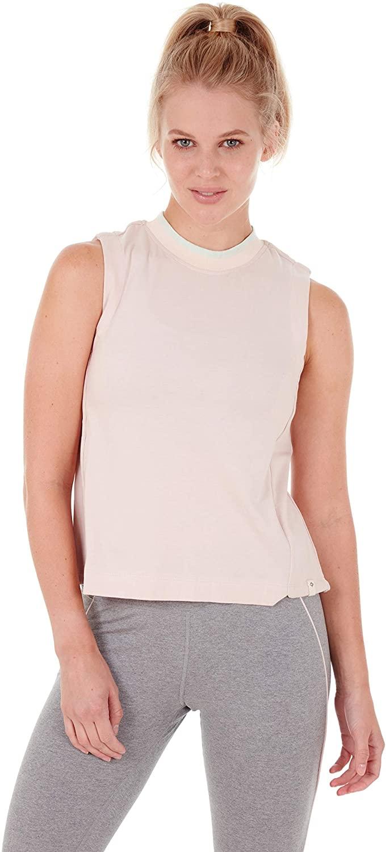 Satva Super Soft Organic Cotton Cross Back Round Neck Tank Top for Women - Prasada Tank