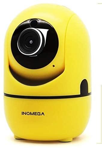 Home Surveillance cameras Home Surveillance Camera HD Cloud Wireless IP Camera Intelligent Auto Tracking Human Home Security Surveillance Network WiFi Camera, Plug Type:EU Plug(720P Black) Security Ca