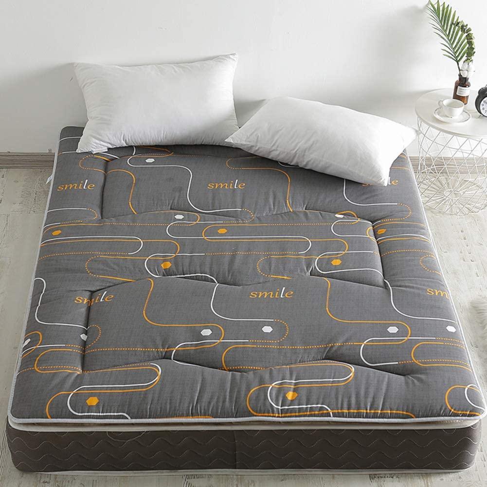 ALIPC Tatami Upholstered Floor Mattress,not-Slip Foldable Bed Mattress Breathable Portable Mattress Home Office Student Futon Mat Sleep Mattress-a 90x200cm(35x79inch)