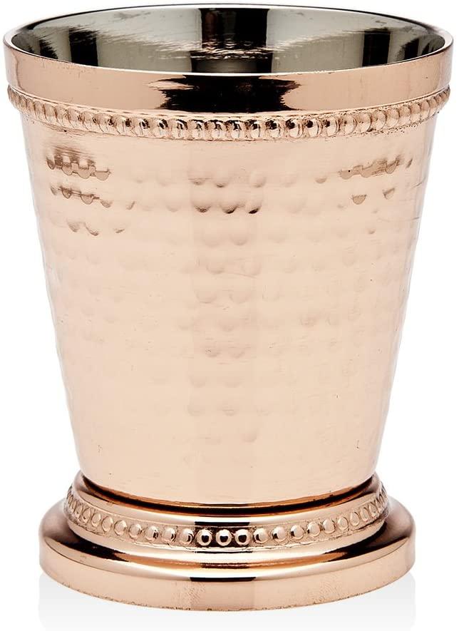 Godinger Beaded Mint Julep Cup, 3.25