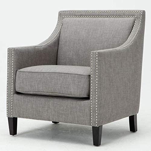Comfort Pointe Taslo Gray Accent Chair