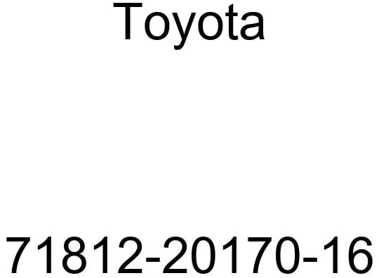 TOYOTA Genuine 71812-20170-16 Seat Cushion Shield