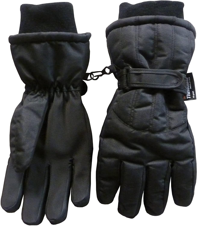 N'Ice Caps Womens Winter Warm Waterproof Thinsulate Snow Ski Gloves