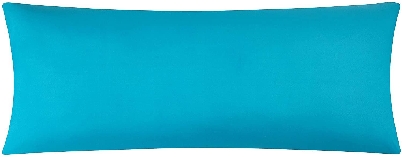 EVOLIVE Ultra Soft Microfiber Body Pillow Cover/Pillowcases 21x54 with Hidden Zipper Closure (Ocean, Body Pillow Cover 21x54)
